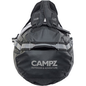 CAMPZ Duffel Bag 65l, black/grey